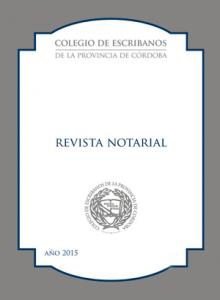 Revista Notarial Nº92