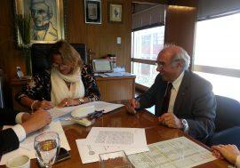 El Colegio firmó un convenio con Desarrollo Social para la escrituración de viviendas sociales