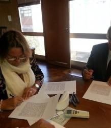 Firma convenio Ministerio Desarrollo Social