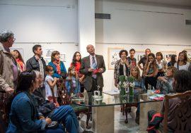 "Se inauguró la muestra ""Pluma y Materia"""