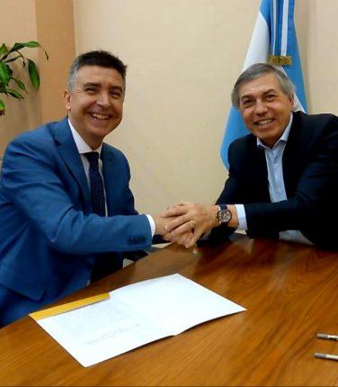 Se firmó Carta Intención con el Ministerio de Gobierno de Córdoba