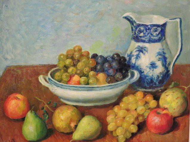 Francisco VIDAL- Fuente con uvas