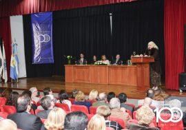 El Colegio de Escribanos festejó 100 años en la comunidad