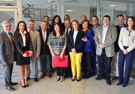 Delegación de Notarios Colombianos visitaron el Archivo de Protocolos Notariales