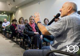 """Ciclos Culturales inició con la disertación """"Vivir 100 años"""""""