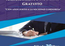 El Colegio de Escribanos brindará  asesoramiento notarial gratuito el 20 de mayo