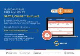 Nuevo informe para inmuebles: online, gratuito y sin clave