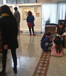 Visita estudiantes UNC galeria de arte 1