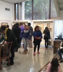 Visita estudiantes UNC galeria de arte 2