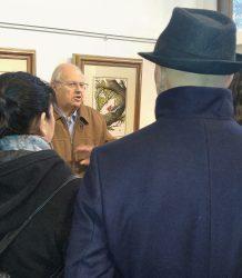 Visita estudiantes UNC galeria de arte 3