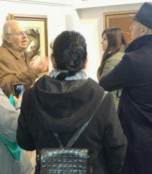 Visita estudiantes UNC galeria de arte 4