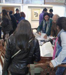 Visita estudiantes UNC galeria de arte 5