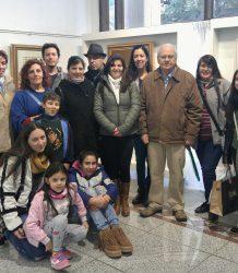 Visita estudiantes UNC galeria de arte 6