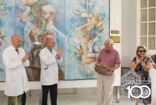 El Colegio de Escribanos donó un mural artístico al Hospital Misericordia