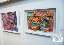 """Se inauguró la muestra """"Evocaciones de vida"""" de la artista Elita Fourcade"""