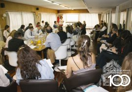 Comisión de Noveles: tuvo lugar la charla sobre Reforma ITI, Ganancias y uso de Posnet