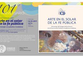 """Presentación del libro """"Arte en el Solar de la Fe Pública"""""""