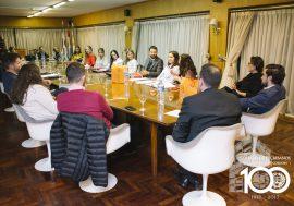 "La Comisión de Escribanos Noveles inauguró el ""Primer Ciclo de Charlas de Derecho de Noveles para Noveles"""