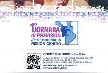 """El 29 de Junio se realizará la """"1era Jornada de Previsión de la Región Centro para Jóvenes Profesionales"""""""