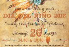 El Colegio de Escribanos festejará el Día del Niño el 26 de Agosto