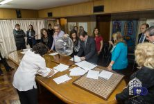 Sorteo de Escribanos adheridos al Convenio con el Ministerio de Desarrollo Social