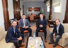 Visita al Colegio de Escribanos de la Provincia de Buenos Aires