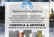 Convocatoria a escultores – Aniversario galería de Arte