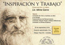 Leonardo da Vinci: Inspiración y trabajo