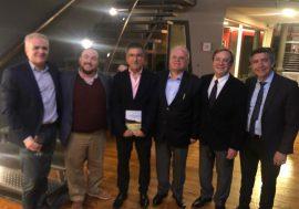 El Escribano Gustavo Luis Boccolini presentó su novela