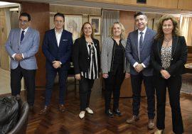 El Colegio firmó un Convenio con el Colegio de Corredores Inmobiliarios
