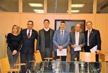 Firma de convenio entre Colegios de Escribanos