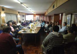 Reunión de FEPUC en el Colegio de Escribanos