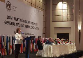 Cristina Armella, Presidenta de la Unión Internacional del Notariado