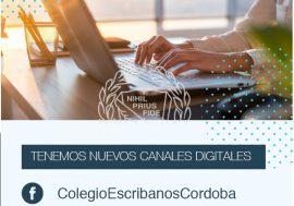 ¡Facebook e Instagram en el Colegio de Escribanos!