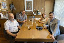 Fructífera reunión con el Colegio de Ingenieros Civiles