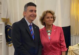 Cristina Armella, asume la primera mujer al frente de la UINL