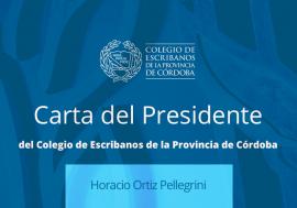 31-03 Carta del Presidente