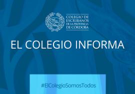 Actividad notarial restringida – Vuelta a fase 3 en la Ciudad de Córdoba