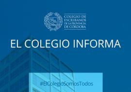 [Ciudad de Córdoba] Actividad Notarial Restringida – Vuelta a fase 3