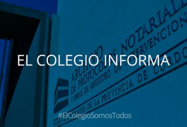 Archivo de Protocolos Notariales y Libros de Registro de Intervenciones.