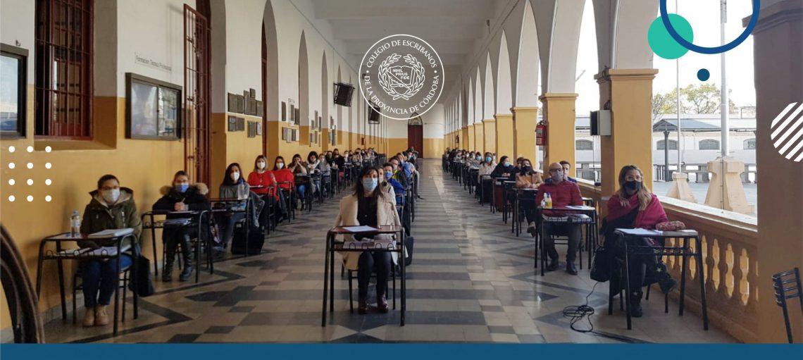 Examen del concurso de antecedentes y oposición para cubrir vacantes de registros notariales