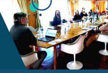 Reunión de autoridades del Colegio de Escribanos de la Provincia, la Caja Notarial y el Tribunal de Disciplina Notarial